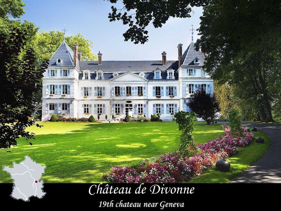 Château de Divonne 19th chateau near Geneva