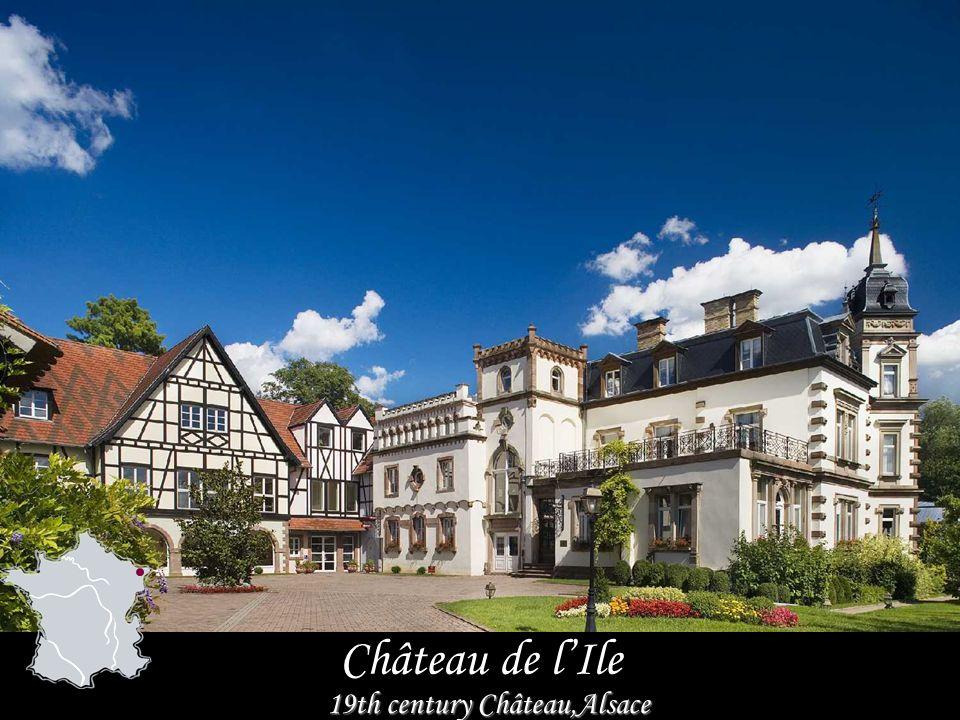 Château de lIle 19th century Château,Alsace
