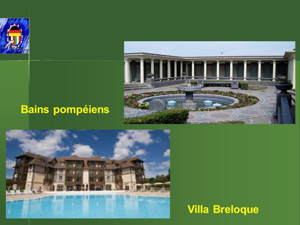 Bains pompéiens Villa Breloque