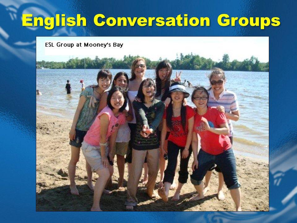 English Conversation Groups