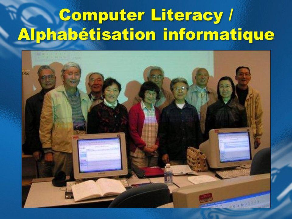 Computer Literacy / Alphabétisation informatique