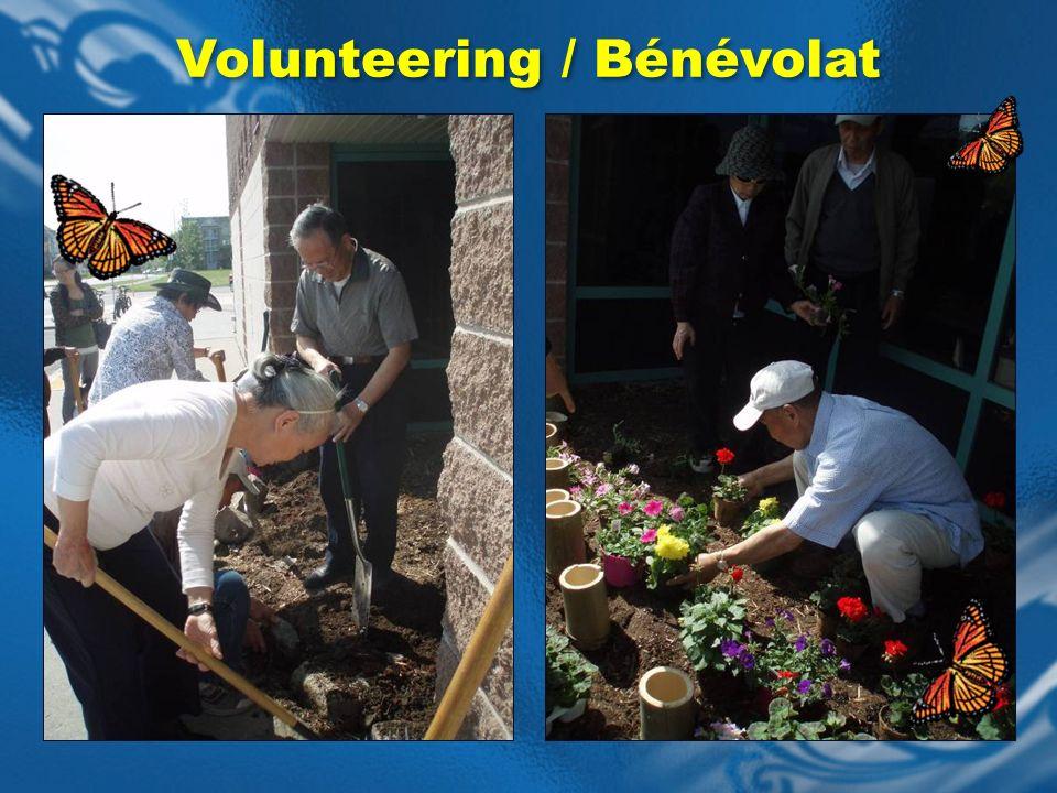 Volunteering / Bénévolat