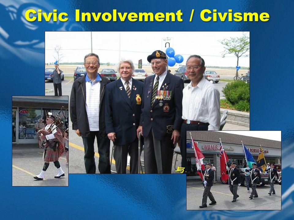 Civic Involvement / Civisme