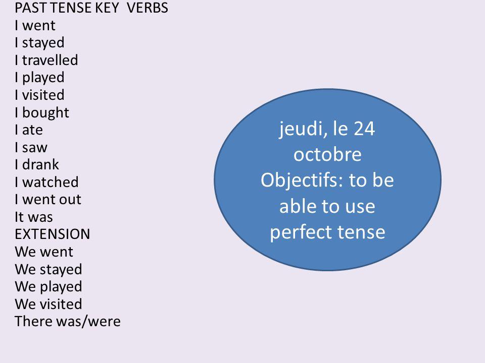 THE PRESENT TENSE OF ÊTRE je suis (I) tu es (you) il/elle/on est (he/she/one) nous sommes (we) vous êtes (you) ils/elles sont (they)