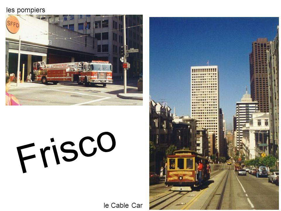 les pompiers le Cable Car Frisco