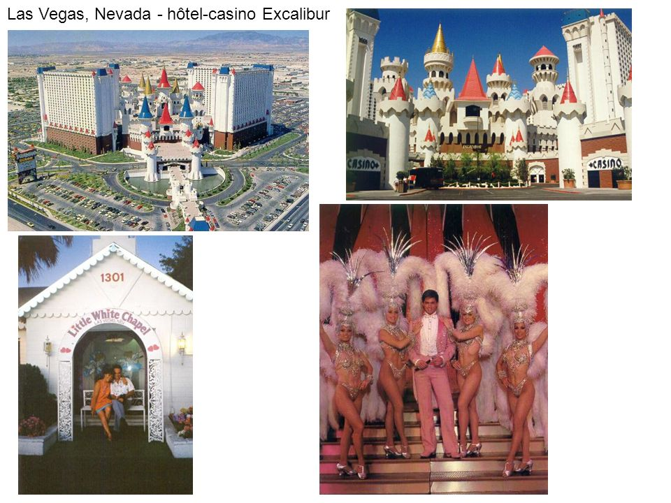 Las Vegas, Nevada - hôtel-casino Excalibur