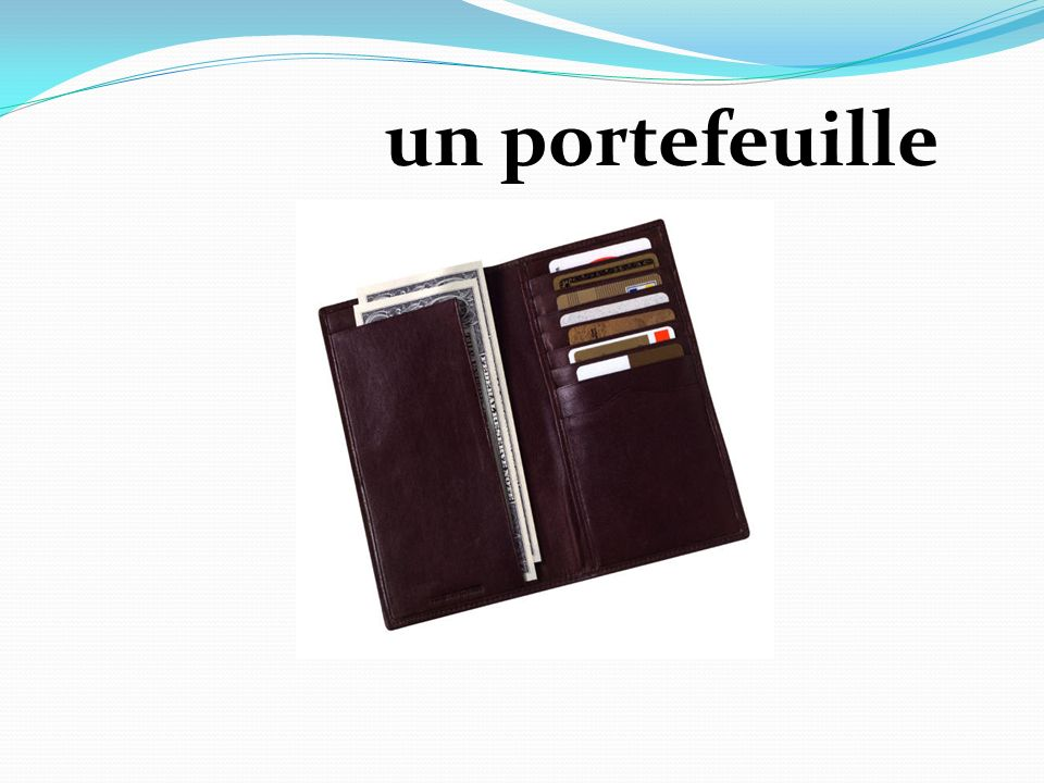 un portefeuille