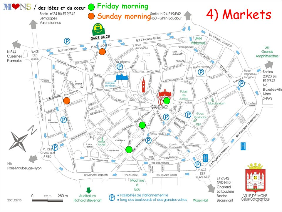 4) Markets Friday morning Sunday morning