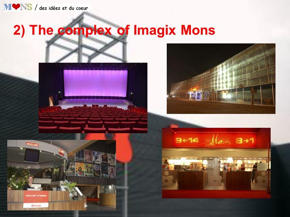 2) The complex of Imagix Mons