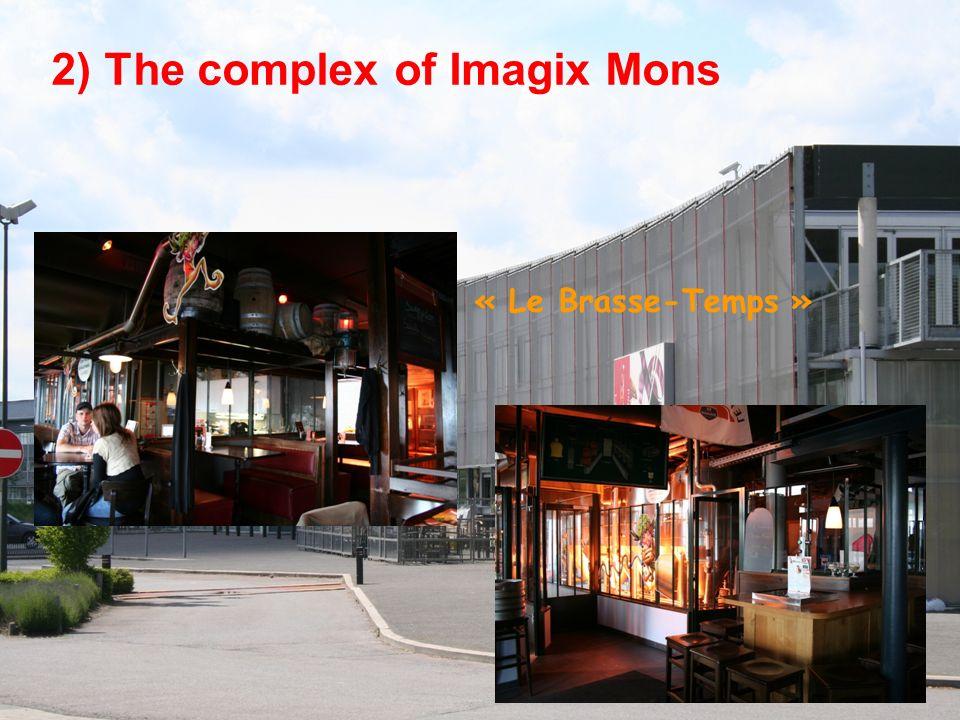 Mons, a commercial city MONS downtown area S.H.A.P.E.