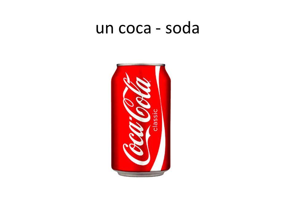un coca - soda