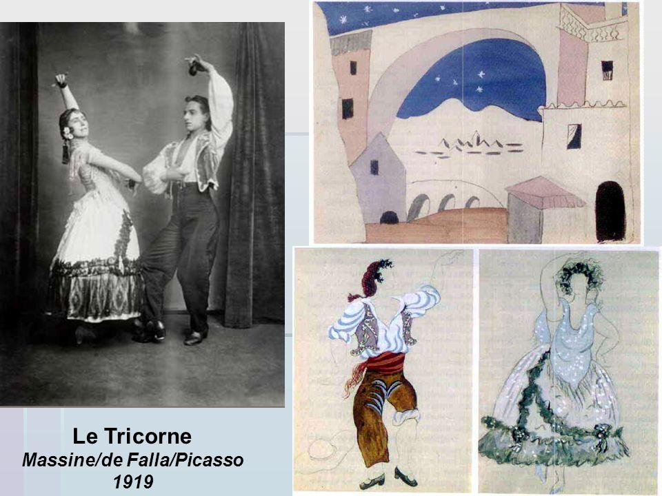 Le Tricorne Massine/de Falla/Picasso 1919