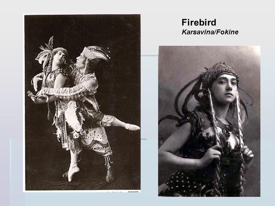 Firebird Karsavina/Fokine