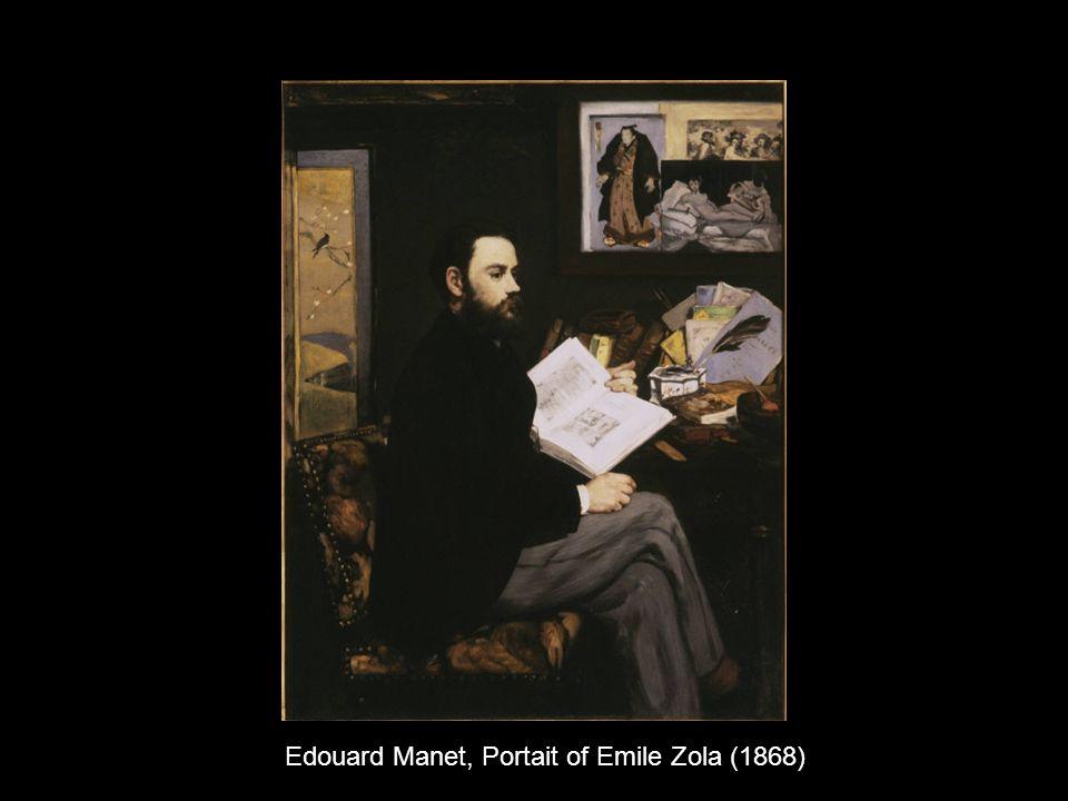 Edouard Manet, Portait of Emile Zola (1868)