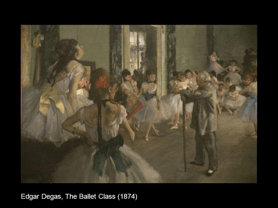Edgar Degas, The Ballet Class (1874)