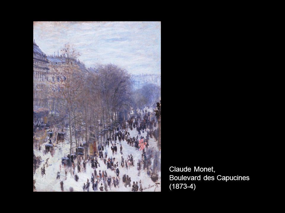 Claude Monet, Boulevard des Capucines (1873-4)