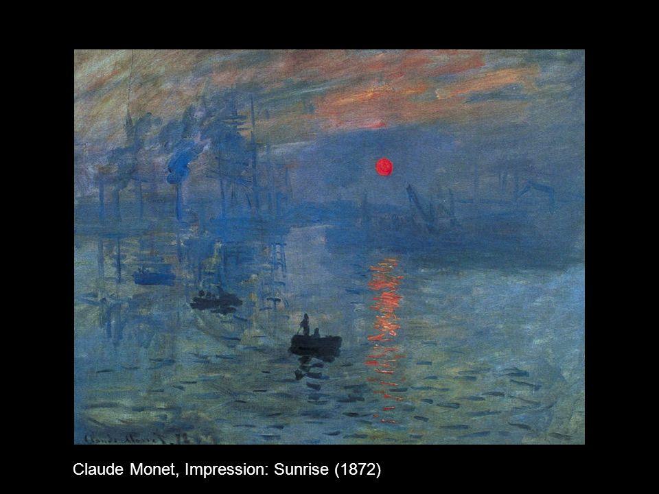 Claude Monet, Impression: Sunrise (1872)