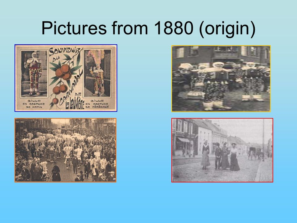 Pictures from 1880 (origin)