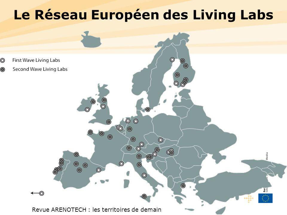 Revue ARENOTECH : les territoires de demain Le Réseau Européen des Living Labs