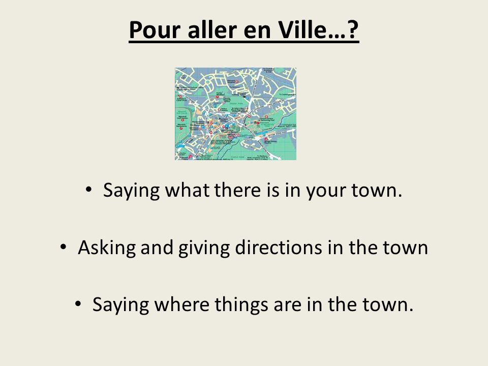 Look at the following places in the town and revise the vocab you have already seen.