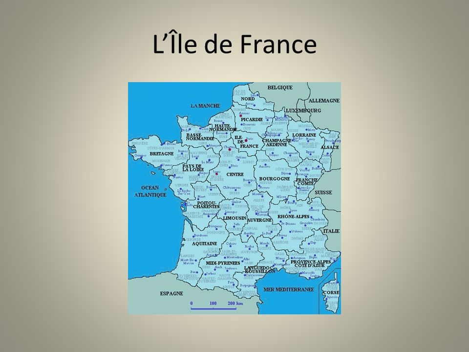 LÎle de France