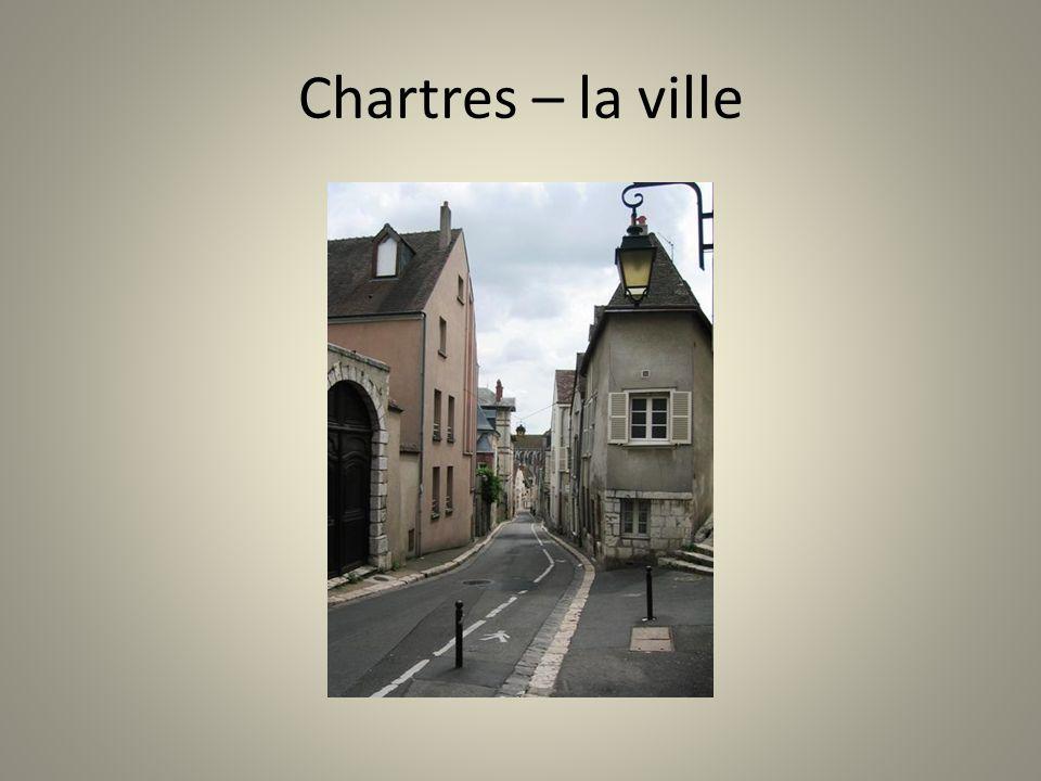 Chartres – la ville