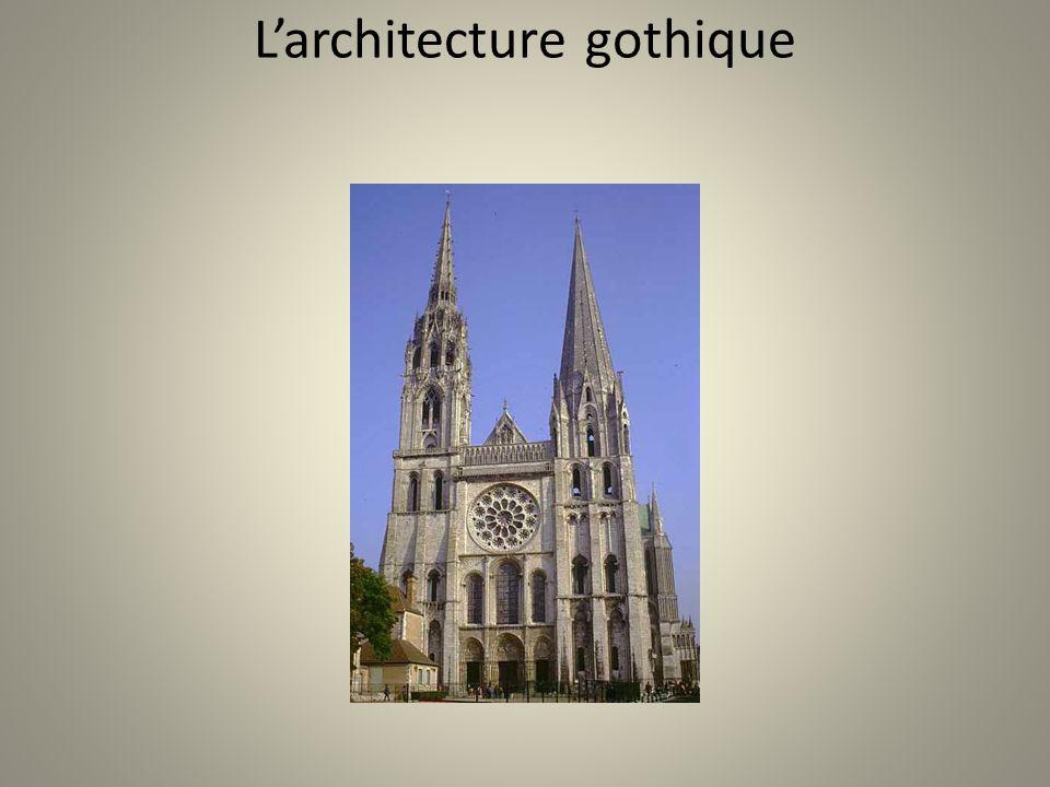 Larchitecture gothique