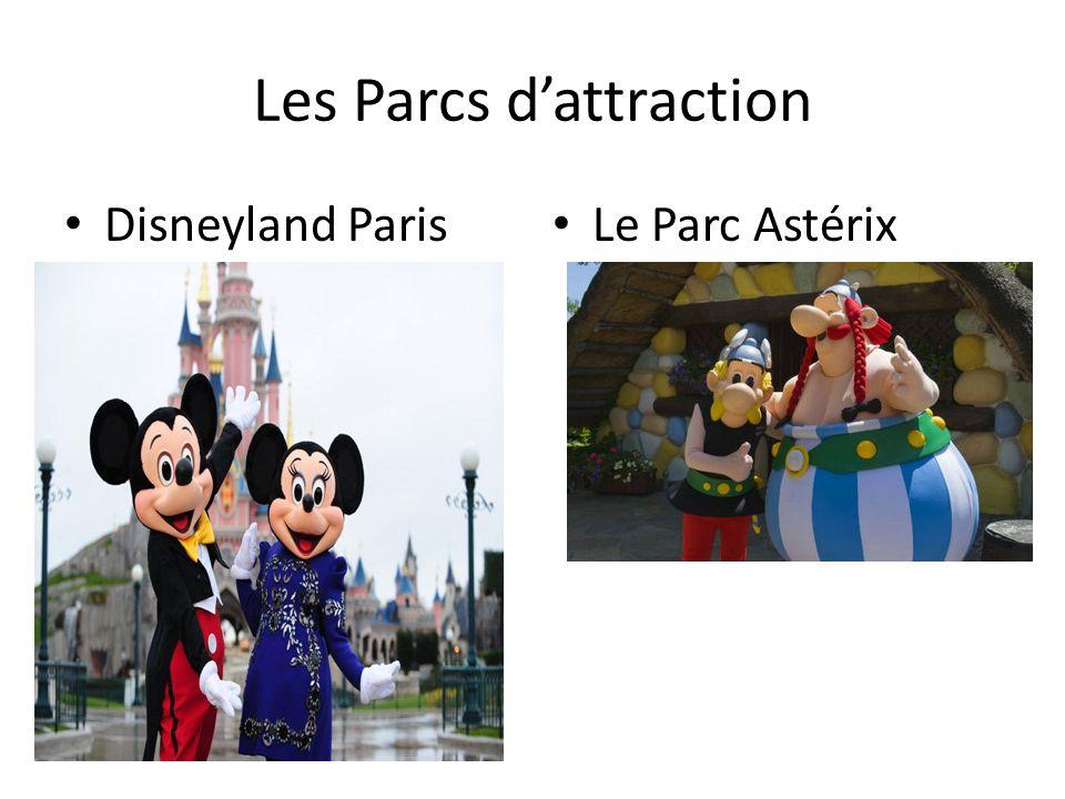 Les Parcs dattraction Disneyland Paris Le Parc Astérix