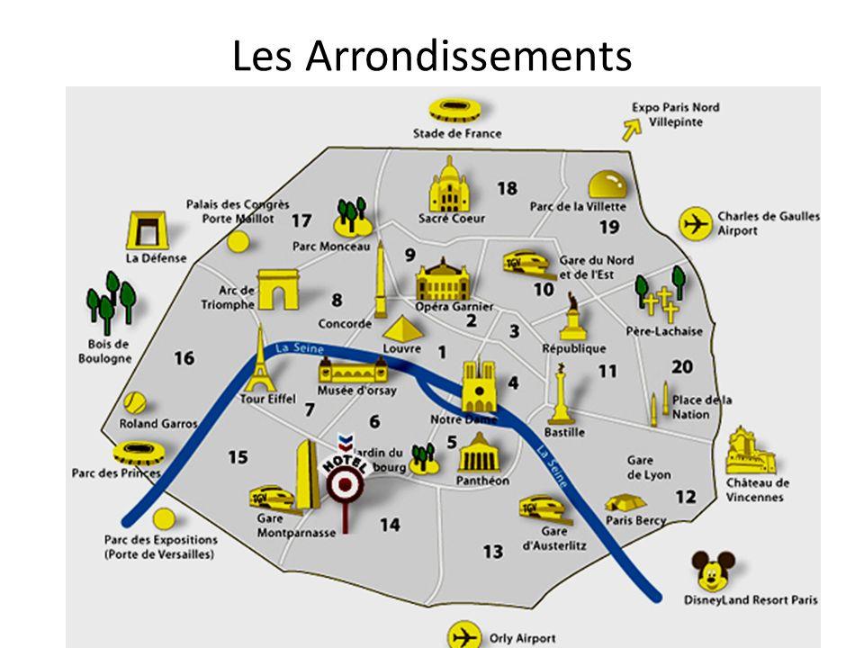 Les Arrondissements