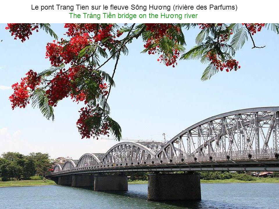 Photo panoramique de la rue Tran Hung Dao à Hu Panoramic picture of the Trn hưng Đo street in Hu