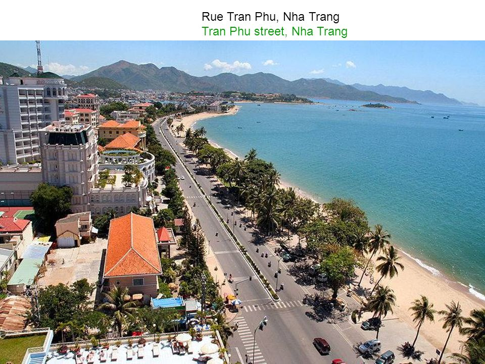 Magnifique plage de Nha Trang Magnificent beach of Nha Trang
