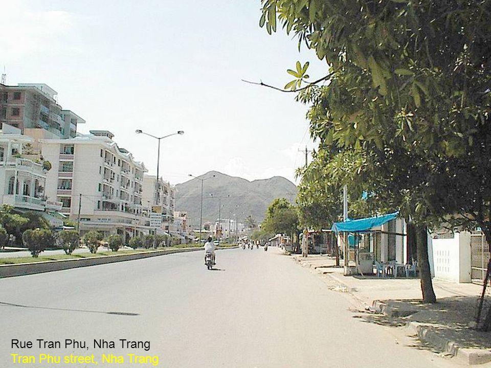 Rue Tran Phu Rue Tran Phu, Nha Trang Tran Phu street, Nha Trang