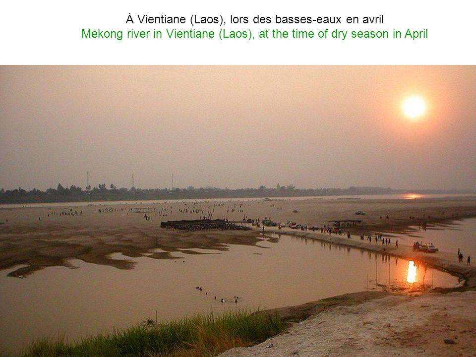 Le Mékong au Laos Mekong river in Laos