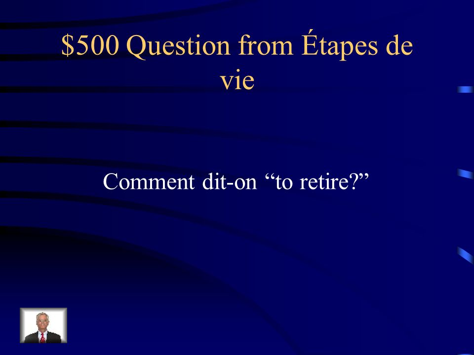 $400 Answer from Étapes de vie la jeunesse