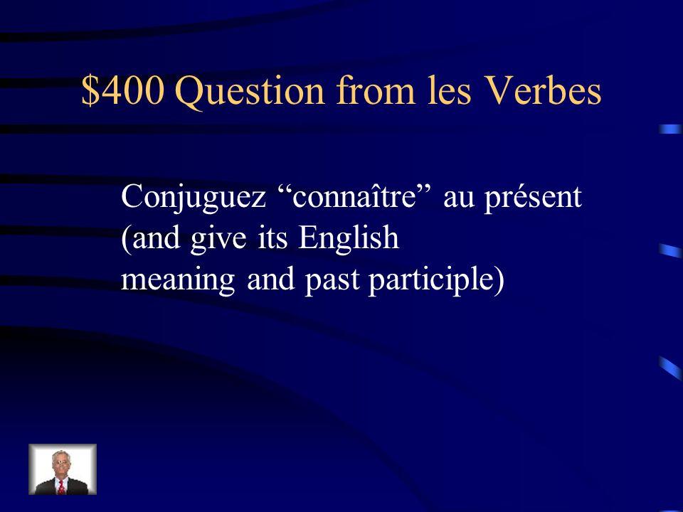 $300 Answer from les Verbes lire – to read je lisaisnous lisions tu lisaisvous lisiez il lisaitils lisaient
