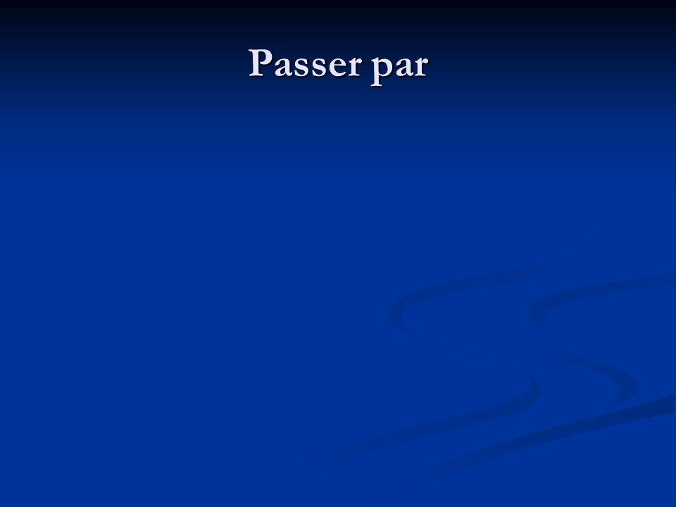 Passer par