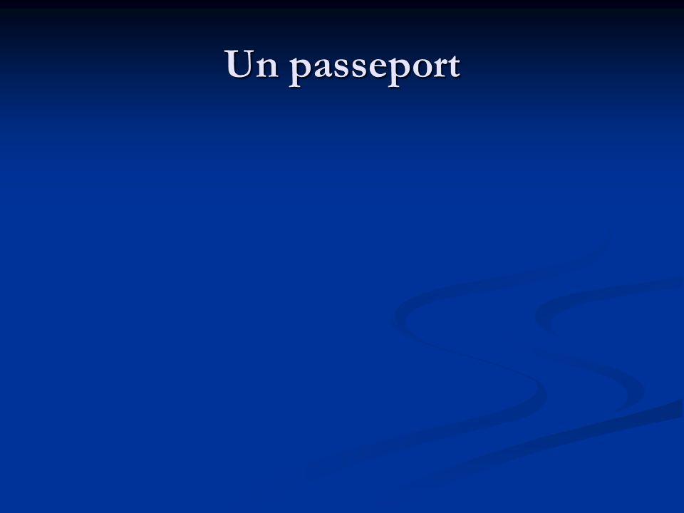 Un passeport
