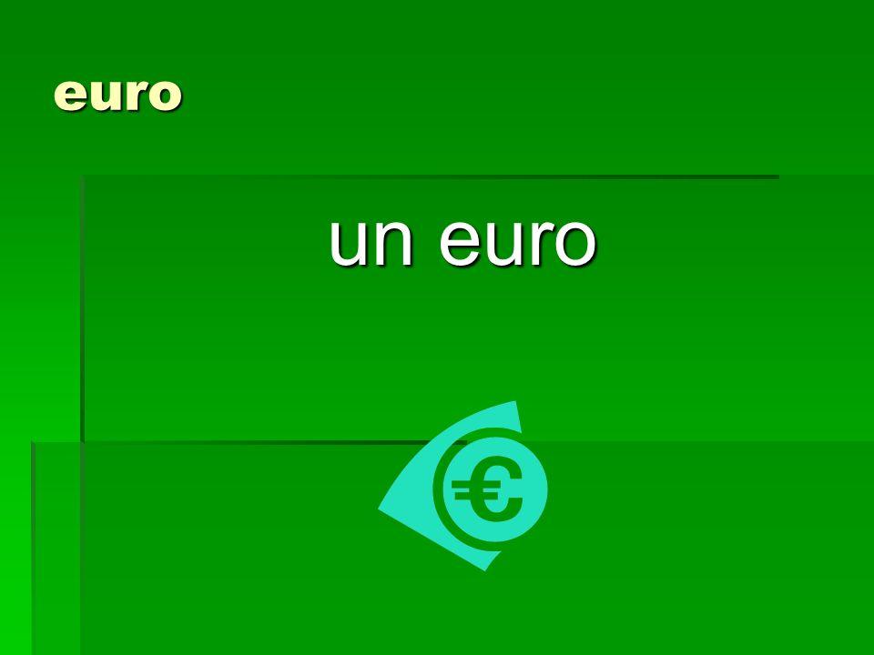 euro un euro