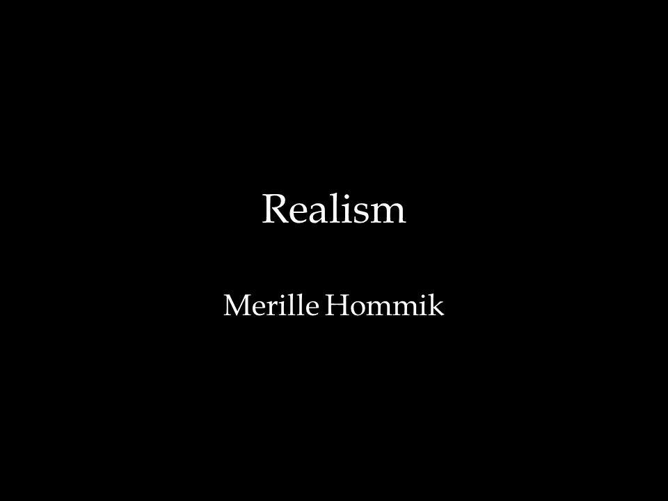Realism Merille Hommik