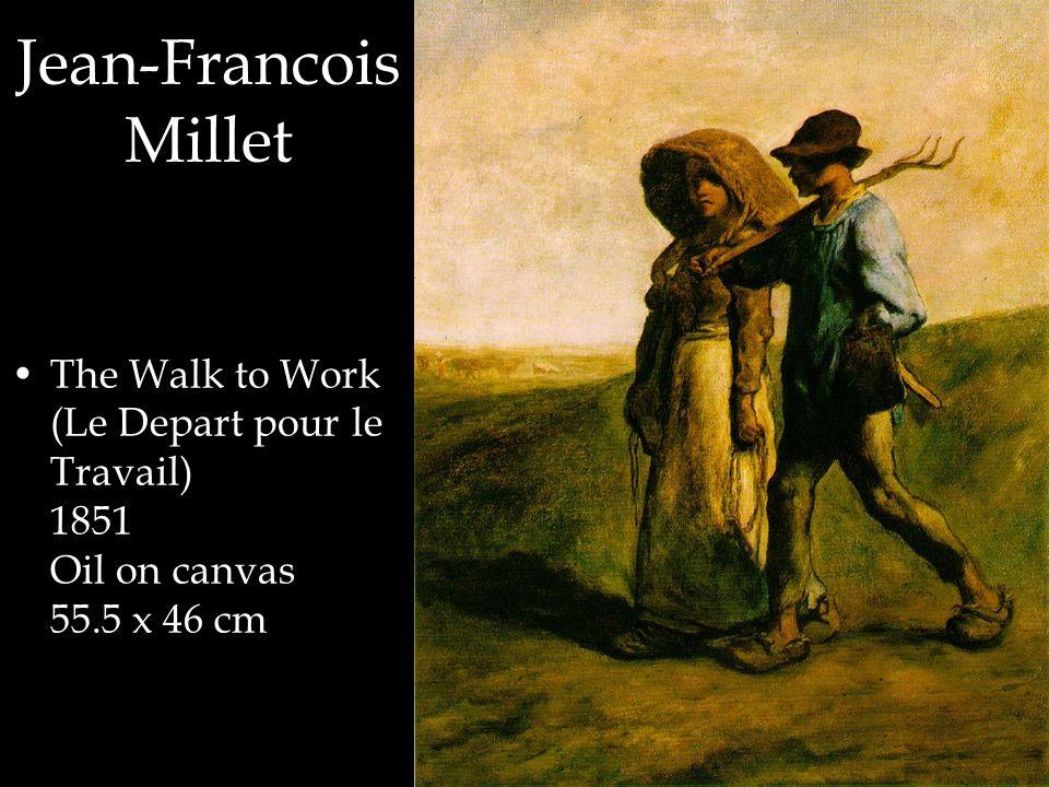 Jean-Francois Millet The Walk to Work (Le Depart pour le Travail) 1851 Oil on canvas 55.5 x 46 cm