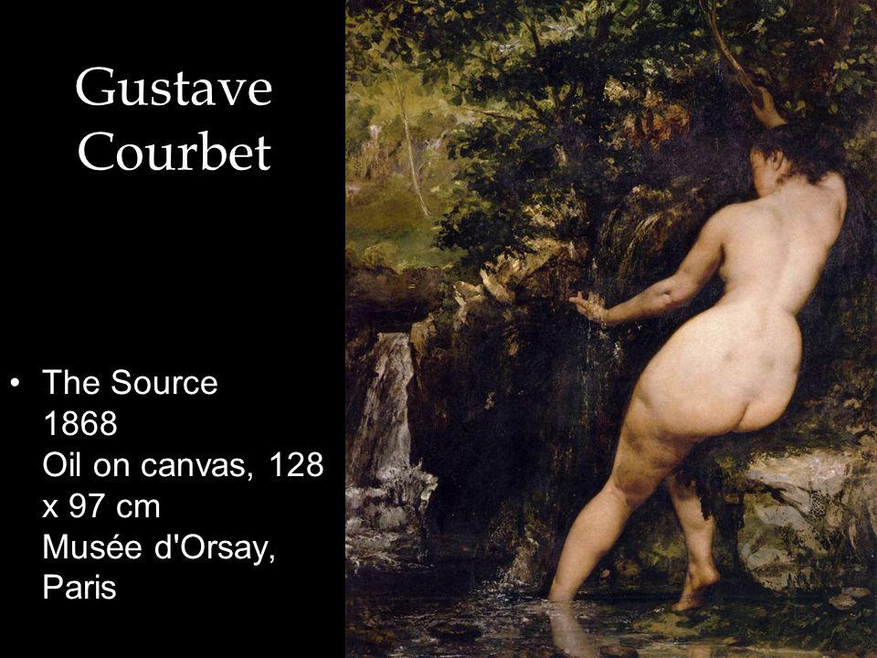 Gustave Courbet The Source 1868 Oil on canvas, 128 x 97 cm Musée d'Orsay, Paris