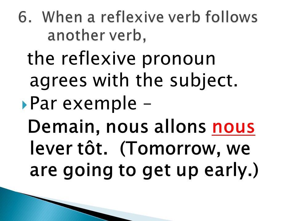 ne comes before the reflexive pronoun and pas follows the verb.