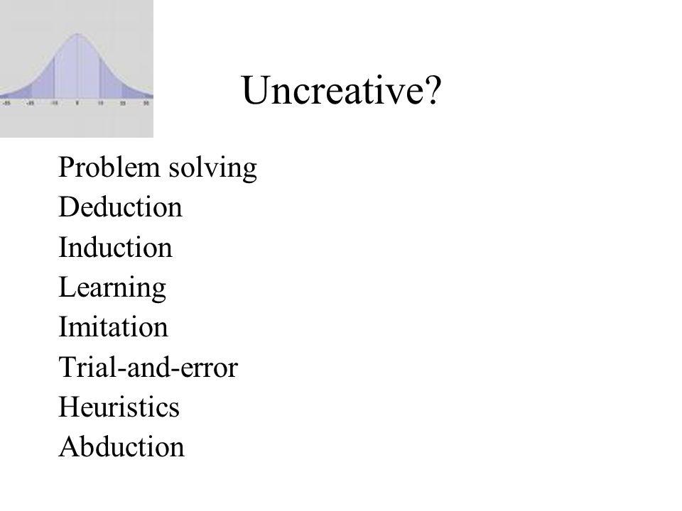Uncreative.
