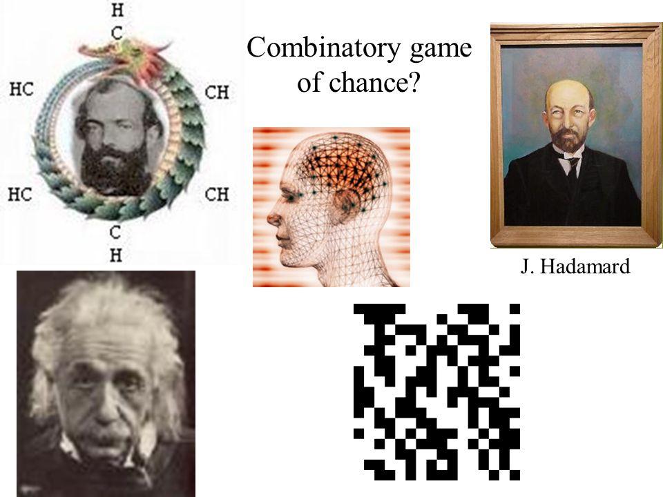 Combinatory game of chance J. Hadamard