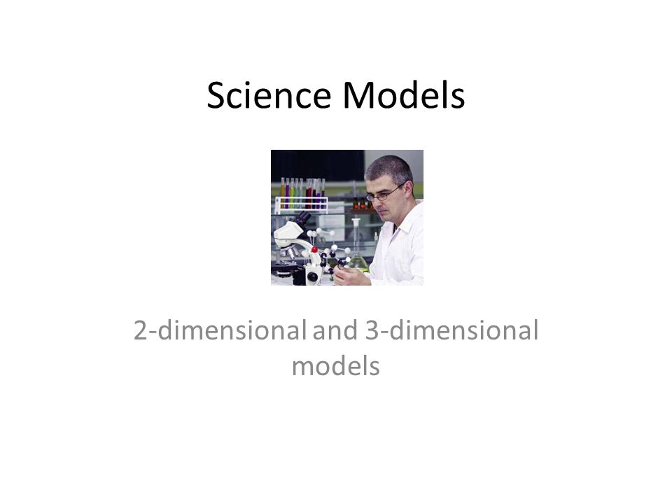 Science Models 2-dimensional and 3-dimensional models