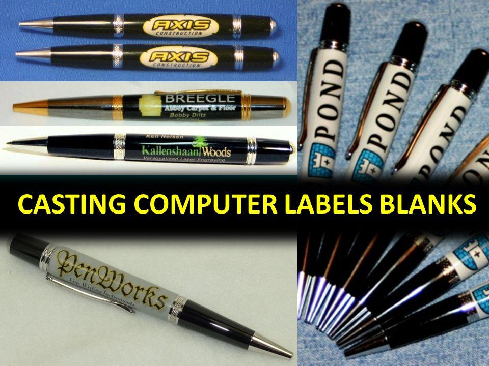 CASTING COMPUTER LABELS BLANKS