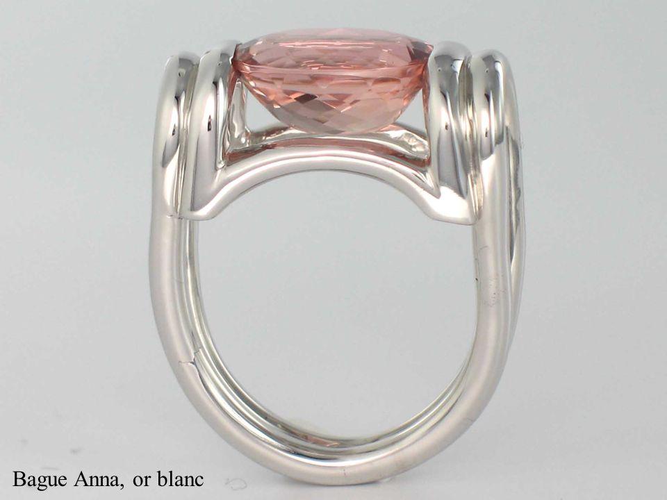 Bague Erica, or blanc rubis et diamants