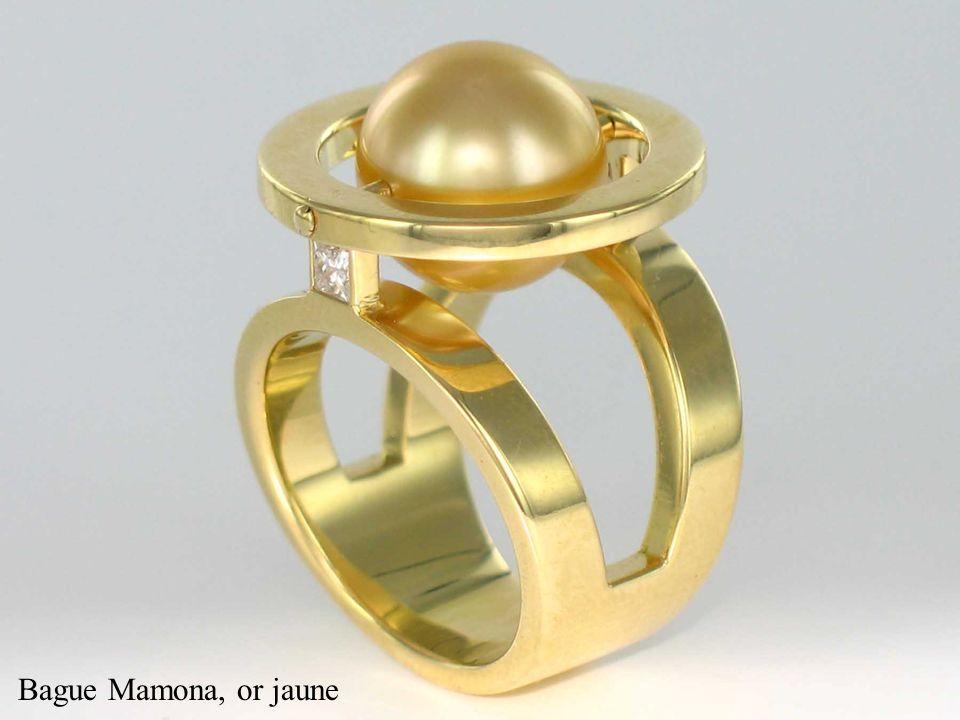 Bague Mamona, or jaune