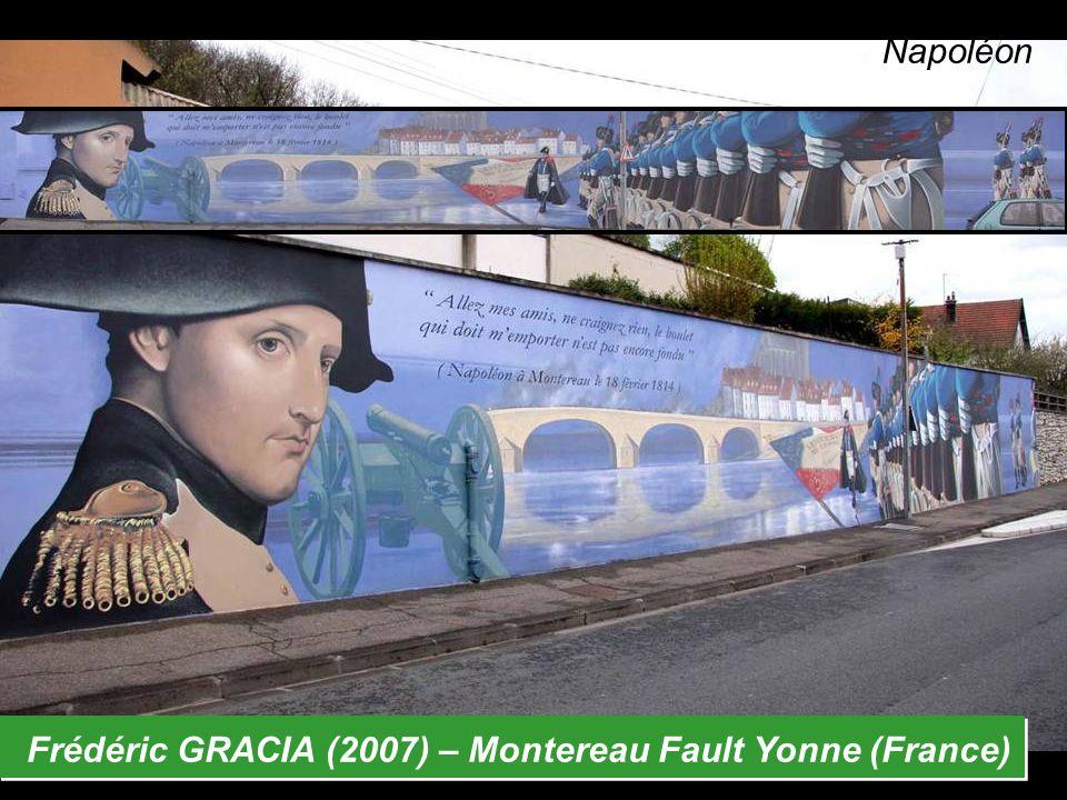 Frédéric GRACIA (2007) – Montereau Fault Yonne (France) Napoléon
