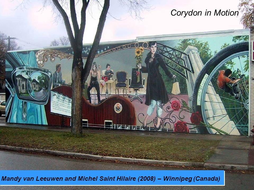 Mandy van Leeuwen and Michel Saint Hilaire (2008) – Winnipeg (Canada) Corydon in Motion